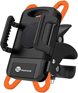 TaoTronics Phone Holder for Bike, Phone Mount Holder, Bicycle Cradle for iPhone 4S 5S 6S 7 8 Plus X Gaxlxy S6 S7, GPS and Other Devices (Renewed)