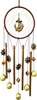 PROMISE YO Round Wind Chimes Outdoor, Wind Bells Indoor Dream Catcher Wind Chimes Outdoor Metal Bell Wind Chimes Mom Wind Chime for Garden, Yard, Patio, Room, Window, Home Décor (Round Shape)