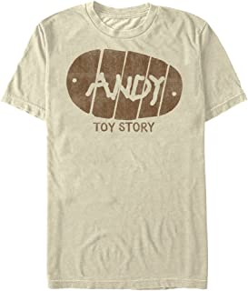 Men's Toy Story Andy Boot Graphic T-Shirt