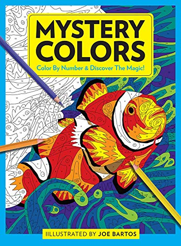 Mystery Colors: Color By Number & Discover the Magic!