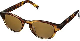 John Varvatos Men's V794 Polarized Round Sunglasses