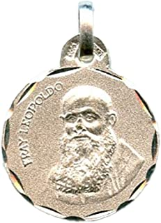 Medalla Rostro Esperanza Macarena 17x12 mm Plata DE Ley