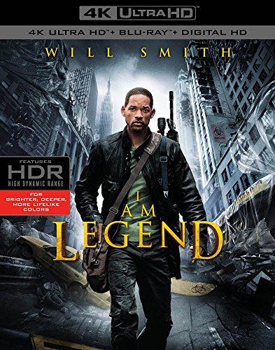 Io Sono Leggenda (Blu-Ray 4K Ultra HD+Blu-Ray) [Blu-ray]