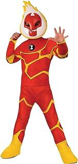 Heatblast Ben10Ben Deluxe Boys Costume