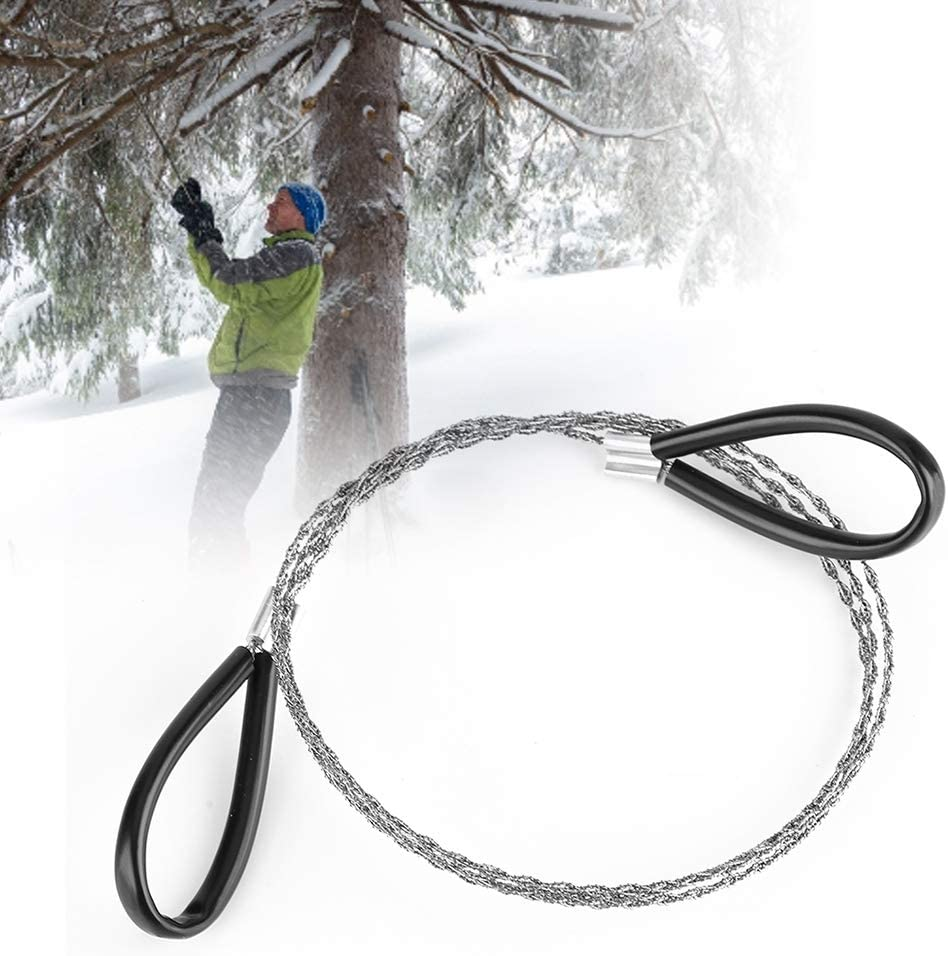 Dibiao Steel Branded Max 49% OFF goods Wire Saw Scroll Su Camping Emergency Travel Outdoor