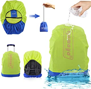 AYAMAYA Waterproof Backpack Rain Cover with Stored Bag 30L to 40L, Lightweight Durable Hiking Backpack Daypack Cover Elastic Adjustable Raincover Water Resist Pack Bag Cover for Travel Camping Rainy
