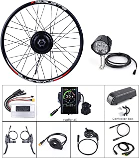 """Bafang 48V 500W Front Hub Motor Brushless Gear Bicycle Engine Electric Bike Conversion Kit with LCD Display for 20"""" 26"""" 27.5"""" 700C"""