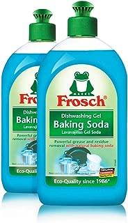 Frosch Natural Baking Soda Liquid Hand Dish Washing Soap, 500 ml (Pack of 2) …