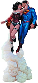 DC Collectibles Superman and Wonder Woman The Kiss Statue