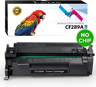 Leize (NO CHIP) Compatible HP 89A CF289A CF289X Toner Cartridge 1-Pack, High Yield Black 5,000 Pages use for HP Laserjet Enterprise M507 MFP M528 Series