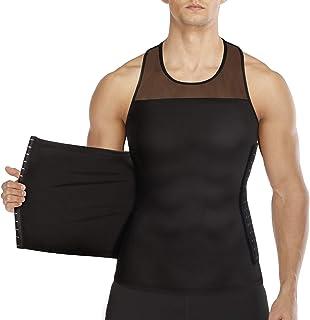 مردان بدن شامپو لاغری Vest مخزن تنگ بالا فشرده پیراهن عضلات کنترل لباس زیر Moobs Binder