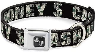 money sign dog collar
