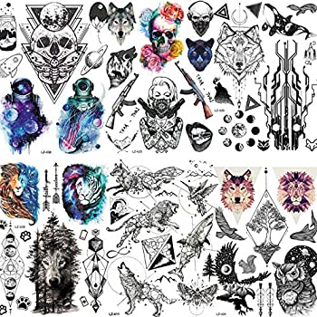 Best geometric skull tattoo Reviews