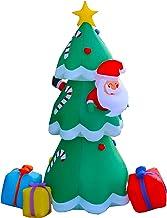 Inflatable Xmas Christmas Tree - Large 240cm with LED House Decoration