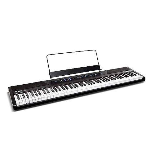 digital piano 88 keys weighted. Black Bedroom Furniture Sets. Home Design Ideas