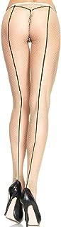Leg Avenue Women's Cage Strap Net Pantyhose