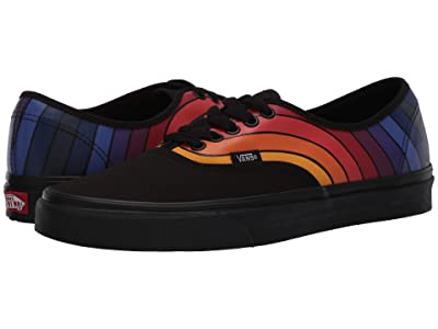Vans Authentictm ((Refract) Black/Multi) Skate Shoes