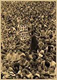 H/L Woodstock Rock Music Festival Retro Poster Wohnkultur