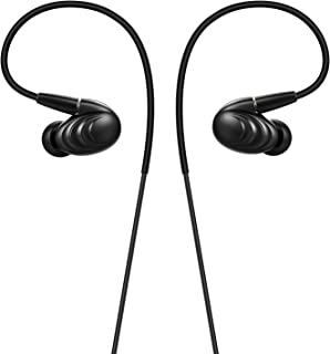 Fiio F9 Best Over the Earphones/Headphones Detachable Cable Design Triple Driver Hybrid In-Ear Monitors with Android Compa...