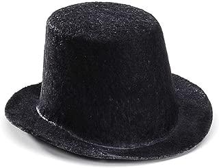 Darice Bulk Buy DIY Black Top Hat 4 x 2 inches (12-Pack) 1238-62