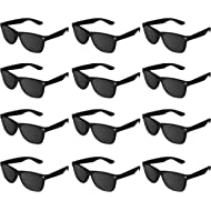 Super Z Outlet Plastic Vintage Retro Style Sunglasses Classic Shades Eyewear Party Prop Favors...