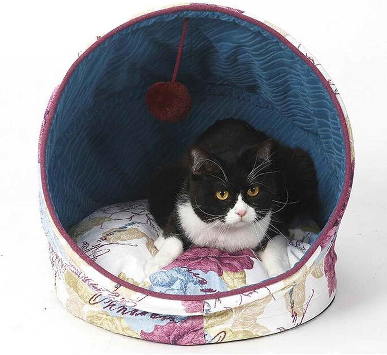 Pet Nest Folding Four Seasons Pet Nest Cats And Dogs Common Cushion Separation 42  42  48cm