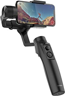 MOZA Mini-MI 3-Axis Smartphone Gimbal Stabilizer Multiple Subjects Detection 360ø Rotation Inception Mode Stunning Motion ...
