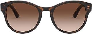 Occhiali da Sole Dolce & Gabbana DG MONOGRAM DG 4376 DARK HAVANA/BROWN SHADED 52/20/140 donna