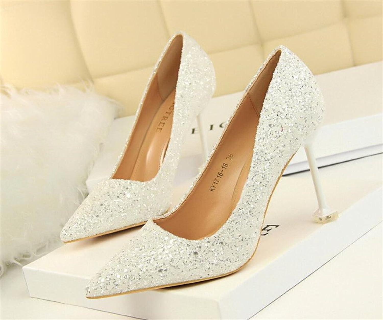 08a6b079599f4 High Heels Sandals Night Club Bar Party Office Ladies Women Bride ...