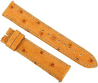 Accessories 20Os12c Unisex Strap 20Mm Matte Light Camel Ostrich Watch