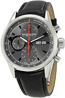 Men's 7730-STC-60112 Freelancer Analog Display Swiss Automatic Black Watch