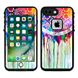 Teleskins Protective Designer Vinyl Skin Decals/Stickers Compatible with Lifeproof Fre iPhone 7 Plus/iPhone 8 Plus Case -Dream Catcher Painting Design Patterns - only Skins and not Case