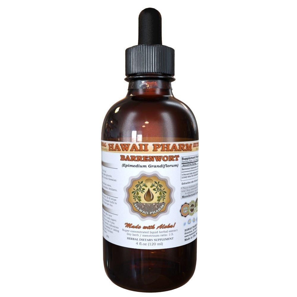 Barrenwort (Epimedium Grandiflorum) Liquid Extract 4 Oz (120ml)
