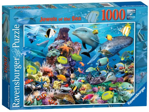 """Ravensburger Puzzle """"Jewels of The Sea"""", 1000Einzelteile"""