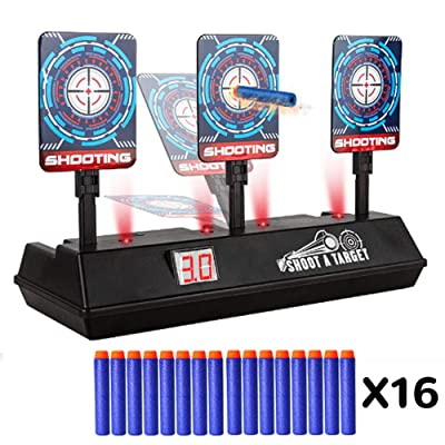 DILIMI Electric Scoring Auto Reset Shooting Dig...