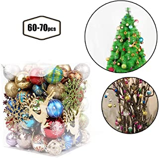 Christmas Balls Ornaments Multicolor Decorations Christmas Tree Balls for Holiday Wedding Party Decoration