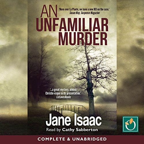 An Unfamiliar Murder audiobook cover art