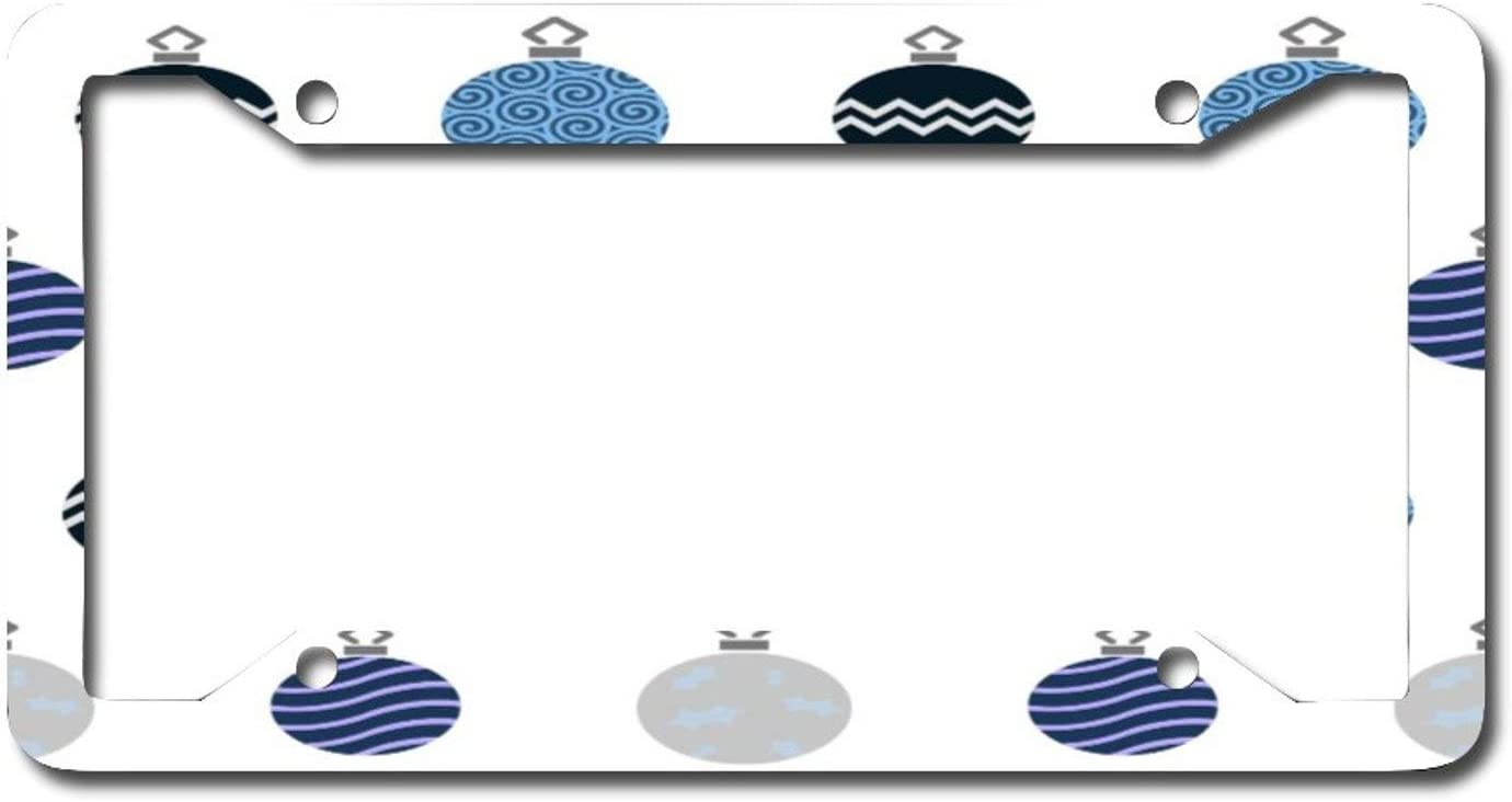 MELANSE License Plate Frame Cover Baubles Directly managed store Blue Ranking TOP19 Ca