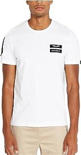 Avirex Men's Patched Crew Neck T-Shirt