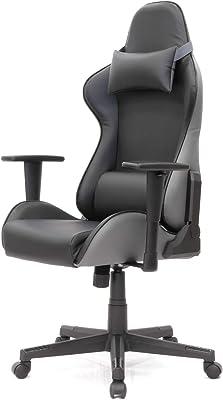 イトーキ ゲーミングチェア オフィスチェア クロスフォーカスチェアa X FOCUS CHAIR a 可動肘付 ブラック/グレー YES-A-BK-AEL