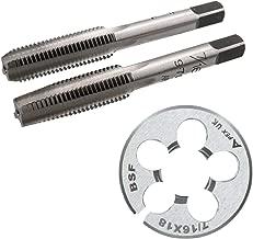 Acero tungsteno rosca cortador 1//2 x 20 UNF Primero cortar Tap c/ónica