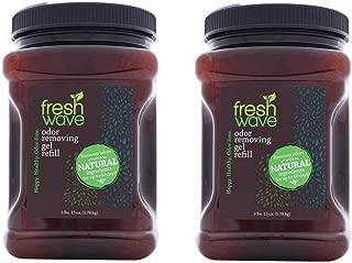 Fresh Wave Odor Removing Gel Refill, 3 lbs. 15 oz. (63 oz.) (Pack of 2)
