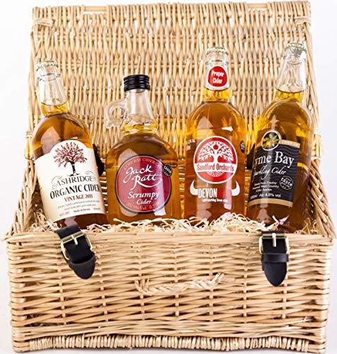 Cider Hamper Local Devon Selection Gift