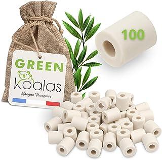 Green Koalas X100 Perles Céramique EM Grises aux Micro-Organismes Efficaces Billes Purificateur Naturel pour Filtration Ea...