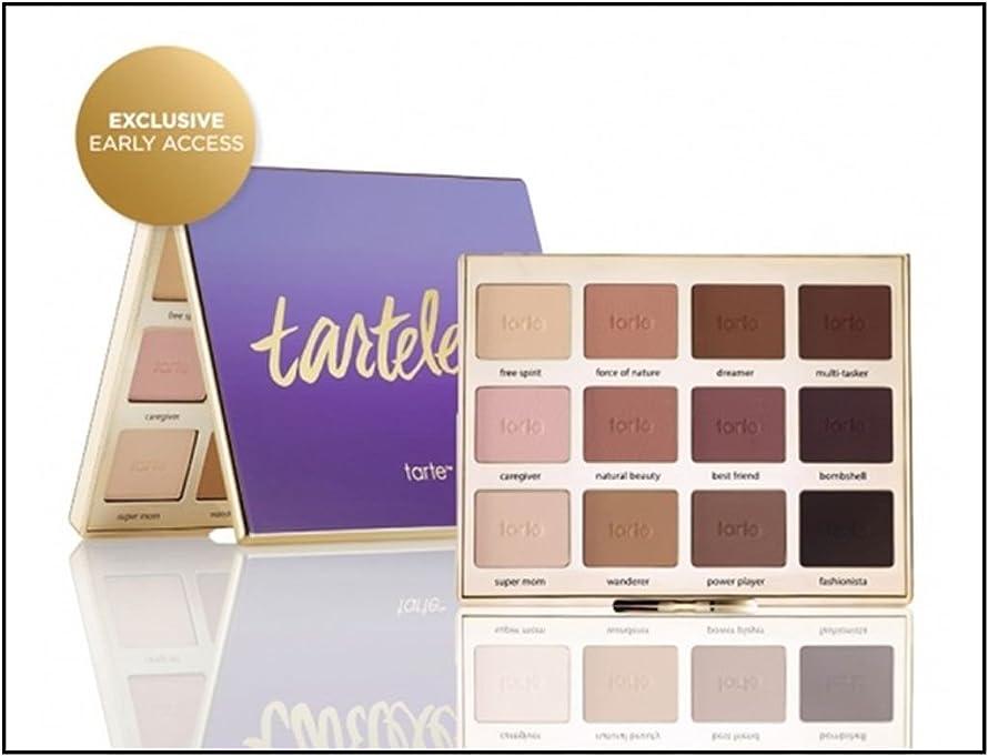 松の木解決するトークTarte Tartelettonian Clay Matte Eyeshadow Palette (Limited Edition) タルト マットアイシャドーパレット [並行輸入品]e Amaz