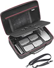 RLSOCO Travel Carrying Case Compatible for DJI Mavic 2 Pro/Zoom Fly More Kit -Fits for Full Mavic 2 Accessories:Remote Controller,5 x Batteries, Charger, Charging Hub,Propellers-(Can Add Lock)