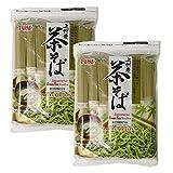 [ 2 Packs ] Hime Japanese Cha Soba Green Tea Noodles, 22.57 Ounce