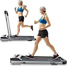 REDLIRO Under Desk Bed Treadmill 2 in 1 Walking Machine Portable Space Saving Fitness Motorized Folding Treadmill Electric...