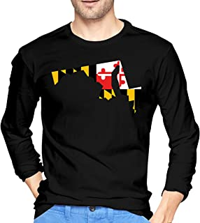 Autism Awareness Maryland Flag Tree Baby Girls Long Sleeved Coveralls One Piece Baby Clothes