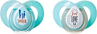 TommeeTippeeCloser to Nature Moda Baby Pacifier,BPA-Free, 6-18months,2Count(ColorsMay Vary)